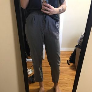 Cropped Armani Exchange trousers